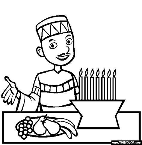 Holiday Coloring Pages Page 1 Kwanzaa Coloring Pages