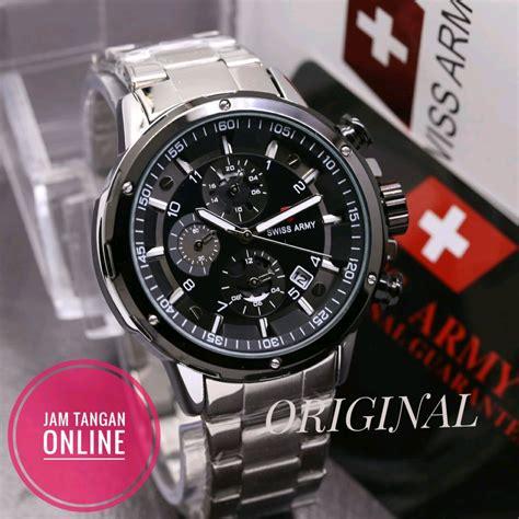 jual jam tangan pria sport swiss army original sport