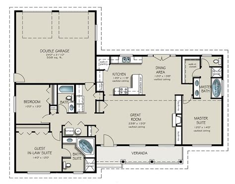 three room house plan studio design gallery best