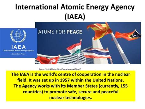 international atomic energy agency iaea all other ppt the united nations powerpoint presentation id 2243962