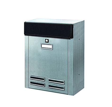 cassetta postale inox cassetta postale alubox magnum inox attacco a parete