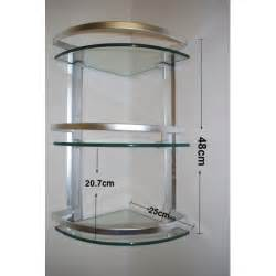 Corner Shelves Bathroom 3 Tier Corner Glass Shelves Bathroom Accessories Bathroom