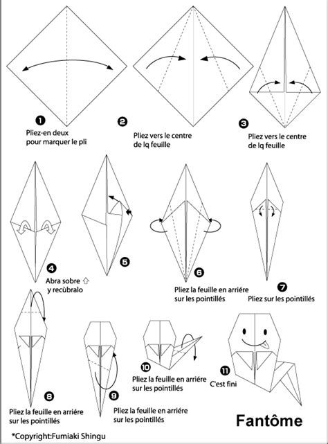 Origami Ghost - fantome related keywords suggestions fantome