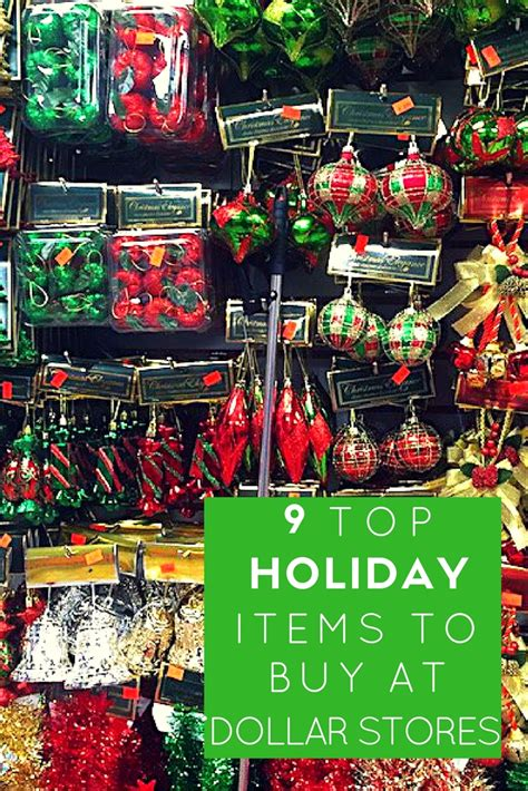9 top holiday items to buy from dollar stores style island