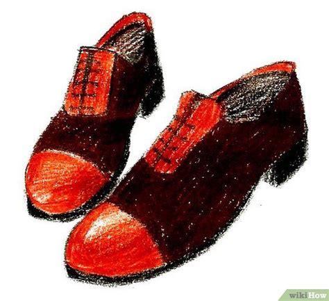 menggambar sepatu wikihow