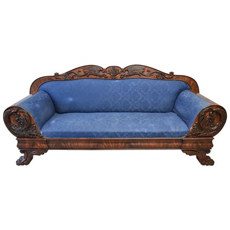neoclassical sofa impressive neoclassical style claw foot and eagle appliqu 233