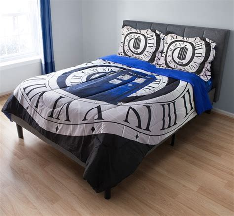 doctor who microfiber comforter set