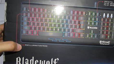 Keyboard Gaming Sades Blade Wolf unbox keyboard gaming dari sades quot bladewolf quot