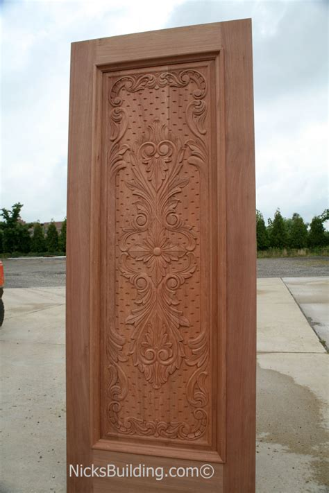Carved Exterior Doors Carved Mahogany Doors Carved Mahogany Doors