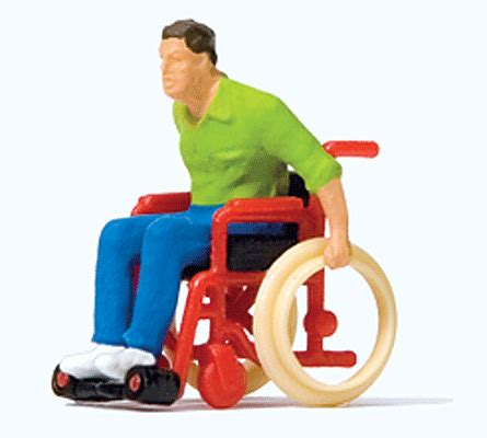 Preiser 10479 3 In Wheelchair preiser 28164 ho figures in wheelchair