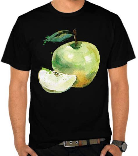 Kaos Distro Apel jual kaos buah apel apple buah buahan satubaju