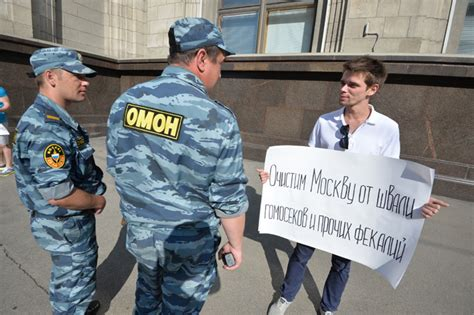 Activists Arrested As Duma Votes To Limit Non Traditional