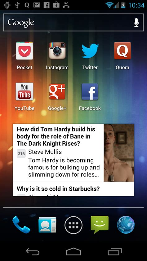 screenshot android gigaom quora answers questions about mobile growth by adding android app