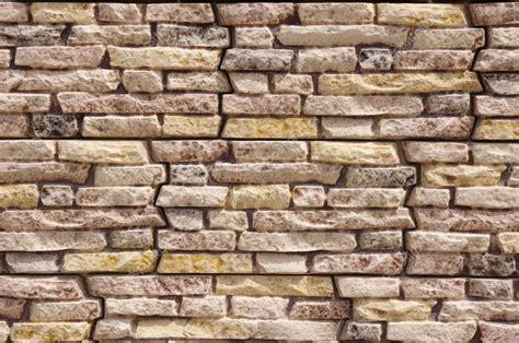 steinplatten wand imitation steinplatten auf wand closeup stockfoto