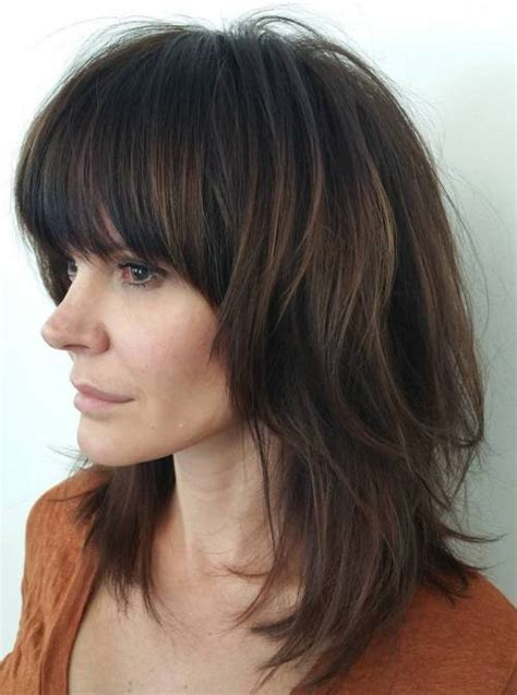shaggy haircut for long straight hair 50 best variations of a medium shag haircut for your