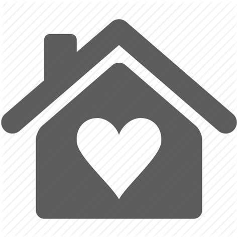 house with a heart building heart home house love icon icon search engine