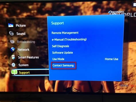 How To Find Smart How To Find Out The Series Number And Model Code Of A Samsung Smart Tv Init Page