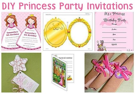 ideas for princess birthday invitations 35 diy princess ideas about family crafts