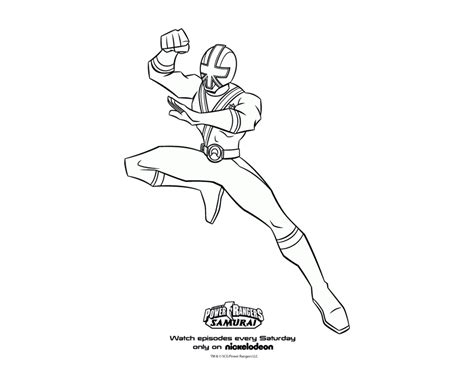 Power Ranger Samurai Coloring Page Preschool Worksheets Power Rangers Samurai Coloring Pages