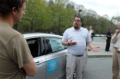 Lamoille Valley Ford by Electric Cars Draw Attention And Riders At Rally Vermont