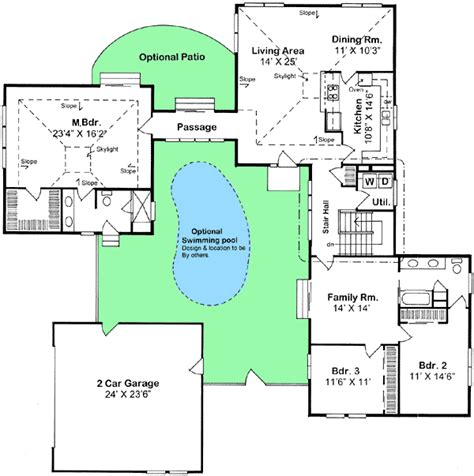 family compound floor plans creative compound 11017g architectural designs house plans