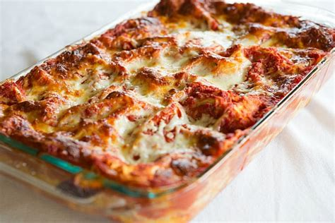 Make Your Own Dining Room Table classic lasagna recipe