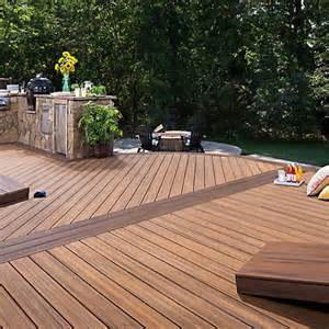 Trex transcend decking and railing pictures to pin on pinterest