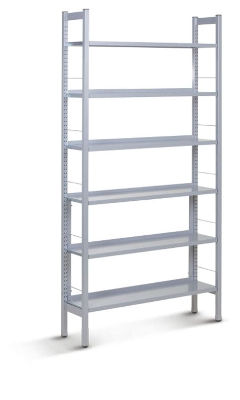 etagere ydf bibliotheque metal biblioth que industrielle teck et m tl