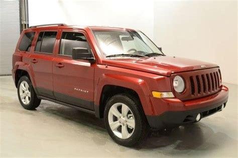 2014 Jeep Patriot Gas Mileage Buy New New 2014 Jeep Patriot Latitude 4dr Fwd Heat Seats