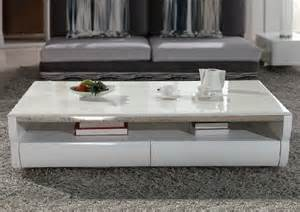modern white marble coffee table unique coffee tables