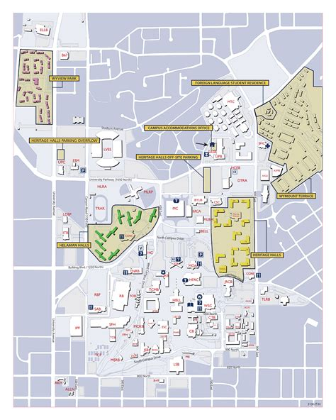 byu map byu on cus housing