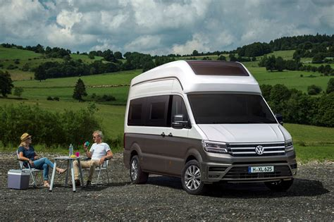motorhome volkswagen vw california a new crafter based motorhome concept