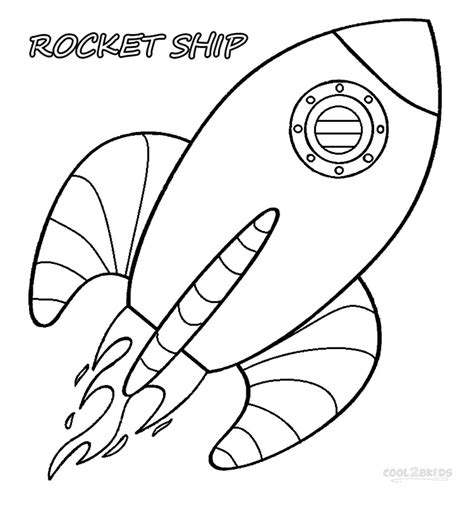 coloring page rocket ship printable rocket ship coloring pages for cool2bkids