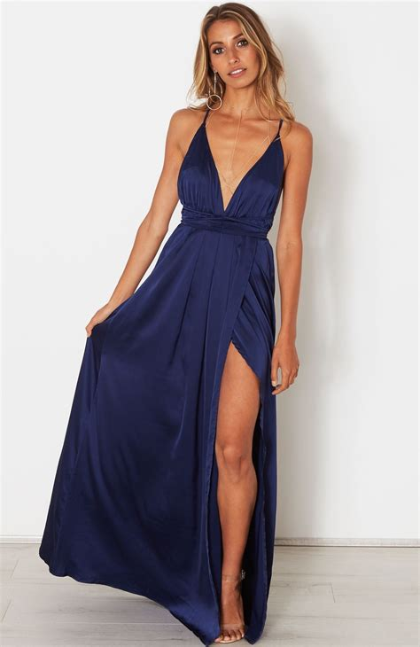 Maxi Dress Tha 4643 description satin look maxi dress halter neck straps that wrap around waist fotki iz seti