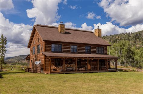 a colorado ranch style home is a haven of rustic warmth this stunning colorado ranch is a horse lover s dream