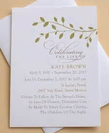 funeral invitation wording 78 images about memorial celebration of ideas on manzanita picture boards and