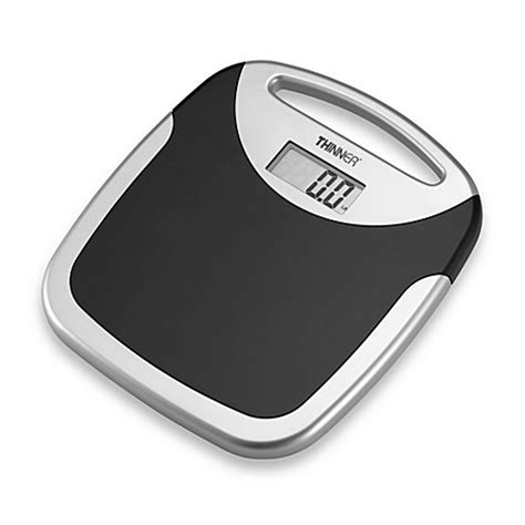 bed bath beyond bathroom scale conair 174 thinner 174 portable digital bathroom scale bed