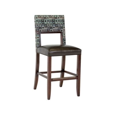 classic leather parker upholstered back bar stool cl7674asb classic leather 6106abs barstool bauer armless bar stool