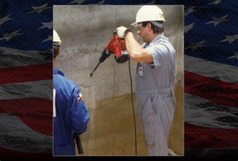 acm basement waterproofing grout injection basement waterproofing island