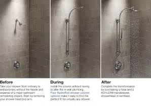 Spa Bath Shower Combination hydrorail 174 shower columns bathroom new products
