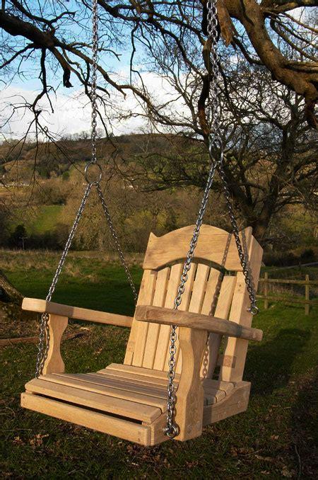 one seater swing autumn and garden furniture sitting spiritually