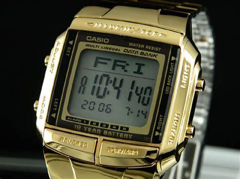 Casio Original W 212h 9a aaa net shop casio casio databank data bank gold
