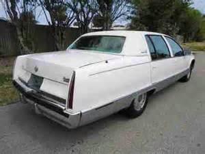 96 Cadillac Brougham Sell Used Florida 96 Cadillac Fleetwood Brougham 74k