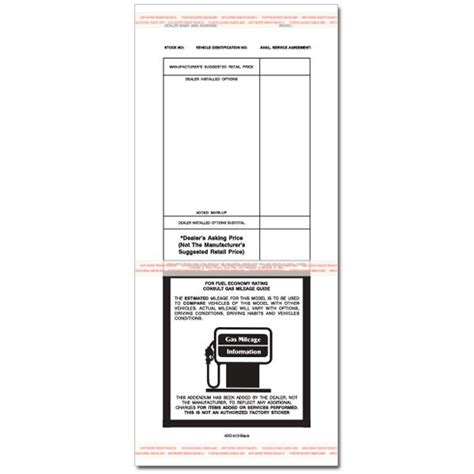 Product Details Designsnprint Dealer Addendum Template