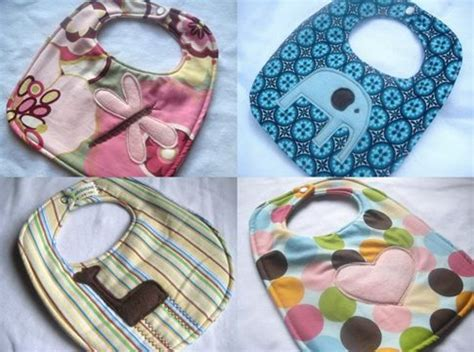 Handmade For Baby - bean pickle sprout baby bibs