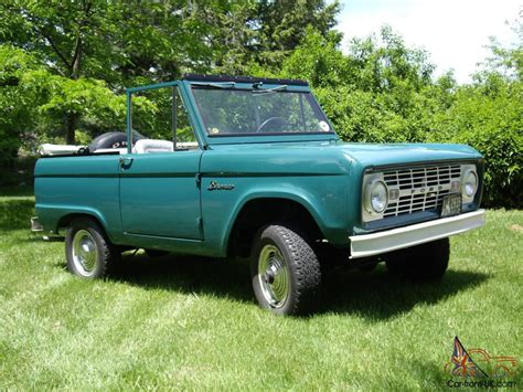 1966 Ford Bronco For Sale by 1966 Ford Bronco For Sale Ebay