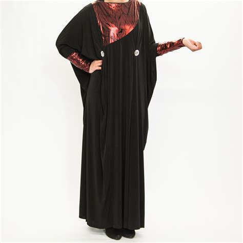 Jilbab Jersey On Black Design Jersey Islamic Abaya 163 49 99