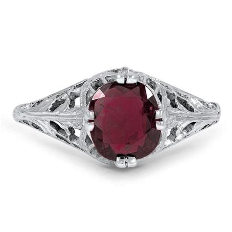 Terisa Top edwardian garnet vintage ring terisa brilliant earth