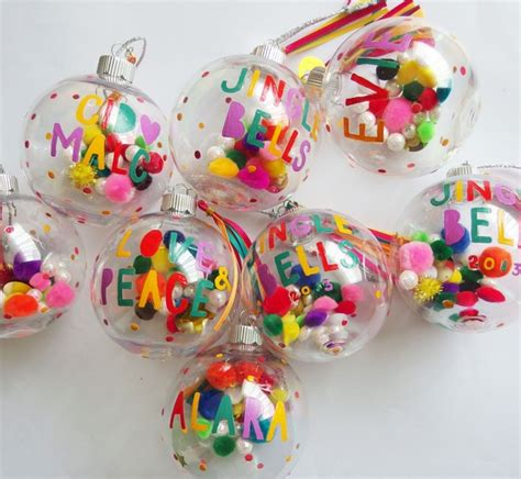 colorful tree ornaments personalised baubles the cutest ornament on