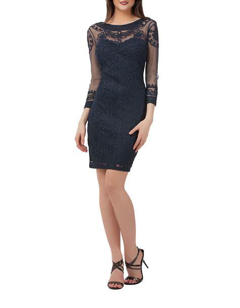 Js Jj Navy Js Cocktail Dresses Eligent Prom Dresses